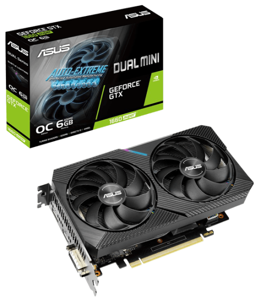 Видеокарта ASUS GeForce GTX 1660 SUPER DUAL EVO OC