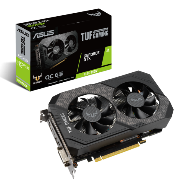 Видеокарта ASUS GeForce GTX 1660 SUPER TUF GAMING OC