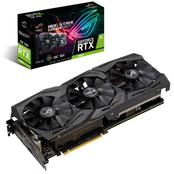 Видеокарта ASUS GeForce RTX 2080 Super STRIX