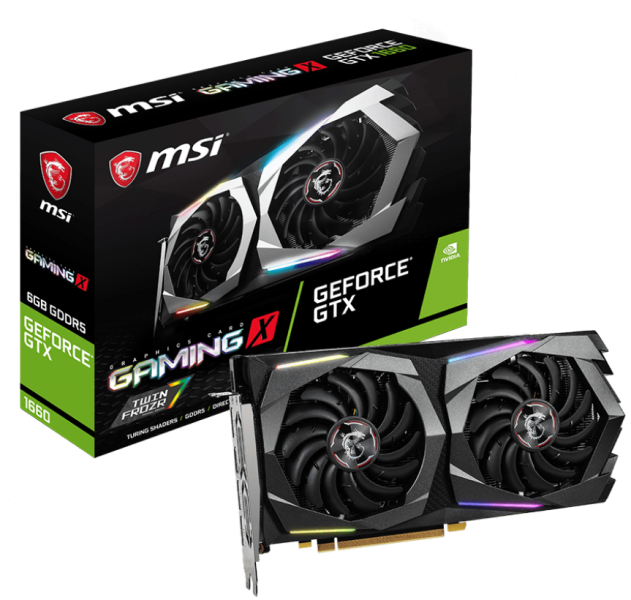 Видеокарта MSI GeForce GTX 1660 GAMING X
