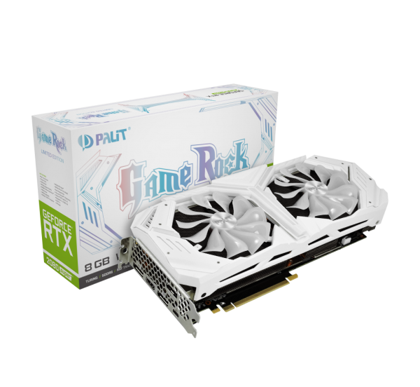 Видеокарта Palit GeForce RTX 2080 Super White GameRock