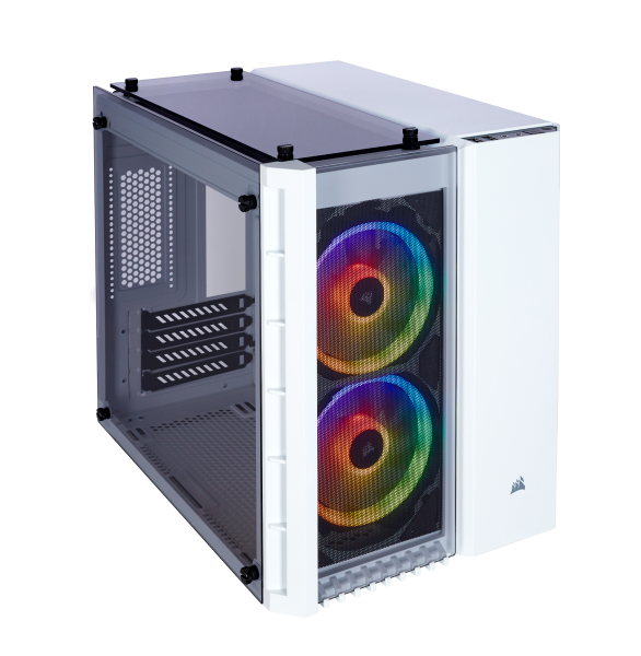 Корпус  CORSAIR Crystal Series 280X RGB TG white