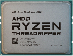 Процессор AMD Ryzen Threadripper 3990X