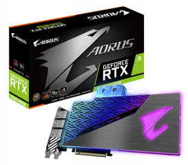 Видеокарта GIGABYTE GeForce RTX 2080 Super AORUS WATERFORCE WB