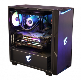 aorus profile c300 glass компьютер от RoyalPC